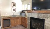 1834 Cold Creek Game Room Fireplace