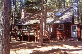2157 Mewuk is a Quintessential Lake Tahoe Log Cabin