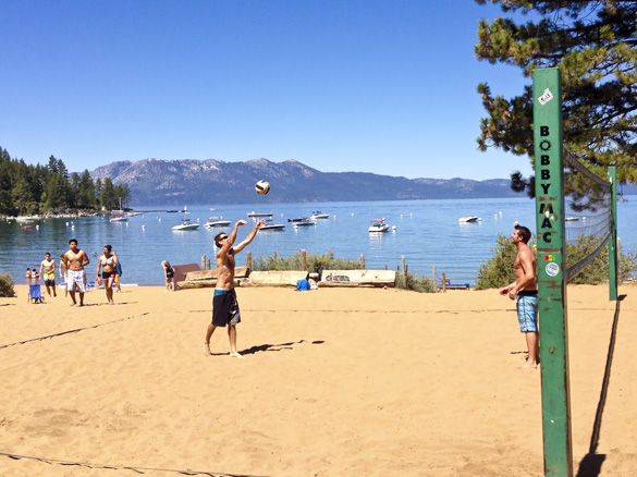 Zephyr Cove Volleyball